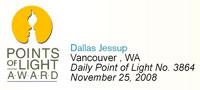 Daily Point of Light Award