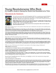 Young Revolutionaries Questions & Answers