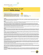 November Daily Points of Light Award to Dallas Jessup
