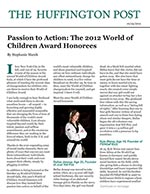 Passion to Action: The 2012 World of Children Award Honorees