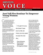 Just Yell Fire Seminar To Empower Young Women