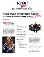 The Power of Getting Angry: A Young Revolutionary Who Rocks