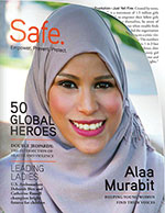 Just Yell Fire Featured in Safe Magazine's List of Global Heroes